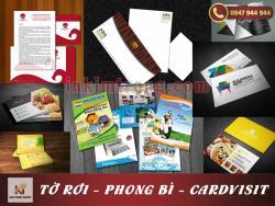 In card Visit lấy ngay tại khu vực Hà Đông